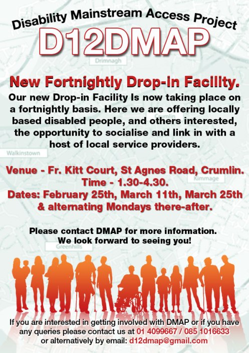 D12DMAP's new Drop in facility for 2013